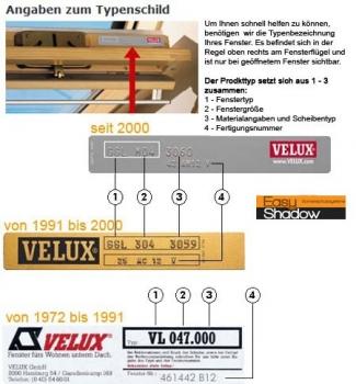 rc sonnenschutz original velux verdunkelungsrollo f r velux dachfenster dkl dku dg dj ggl gpl. Black Bedroom Furniture Sets. Home Design Ideas